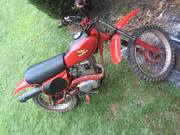 1982 Xr80 Dirt Bike- $650